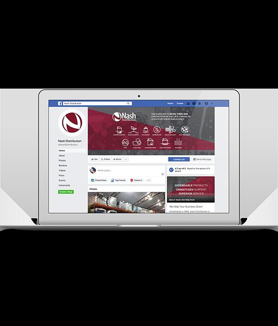 Nash Distribution   Social Media and Reputation   Greenbaum Stiers Strategic Marketing Group  