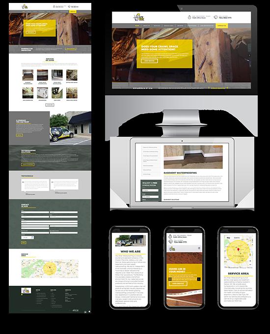 Dry Otter Waterproofing   Web Design and Development   Greenbaum Stiers Strategic Marketing Group  