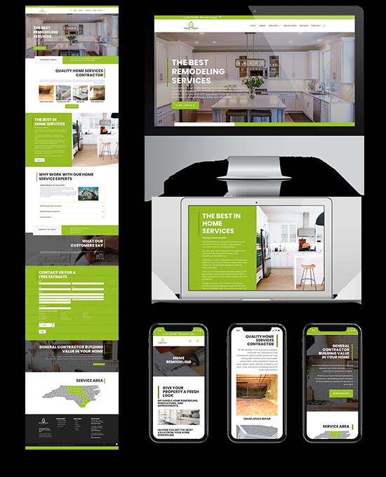 Going Green Contractor   Web Design and Development   Greenbaum Stiers Strategic Marketing Group  