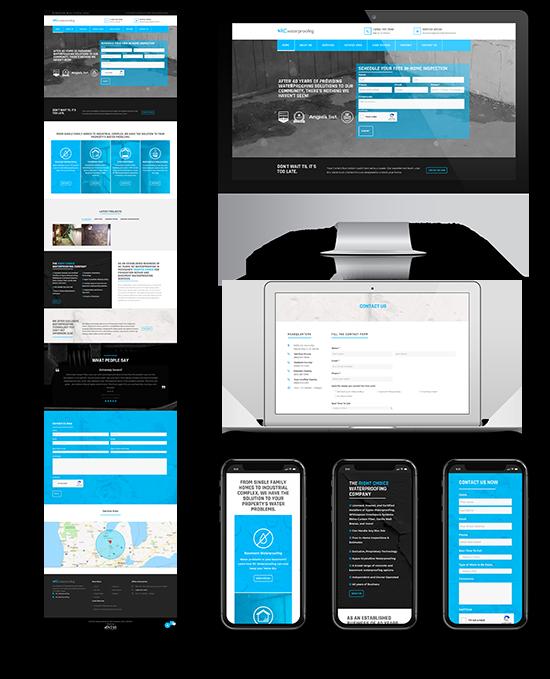 RC Waterproofing   Web Design and Development   Greenbaum Stiers Strategic Marketing Group  