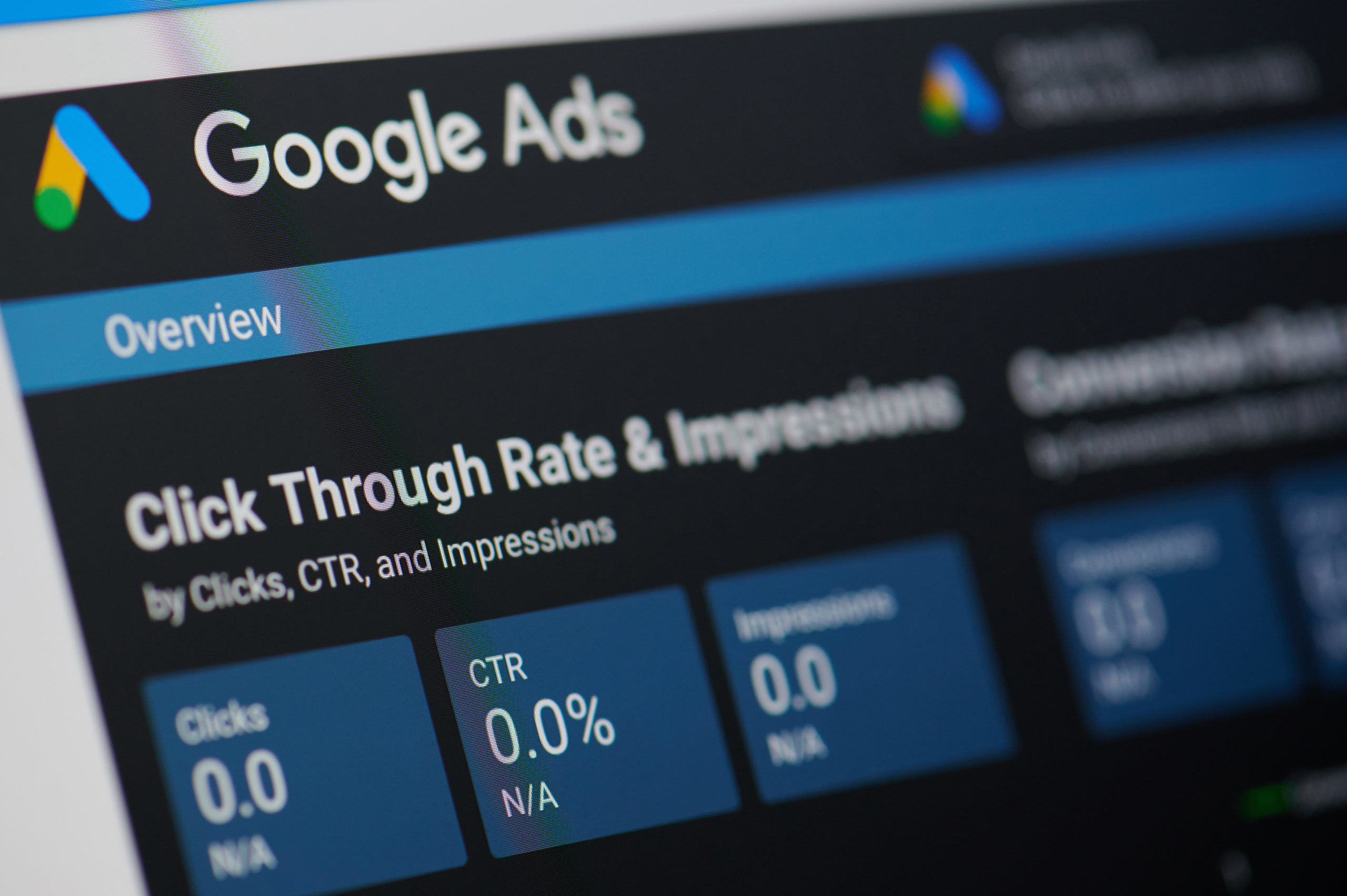 Google ads menu | Google Ads Marketing