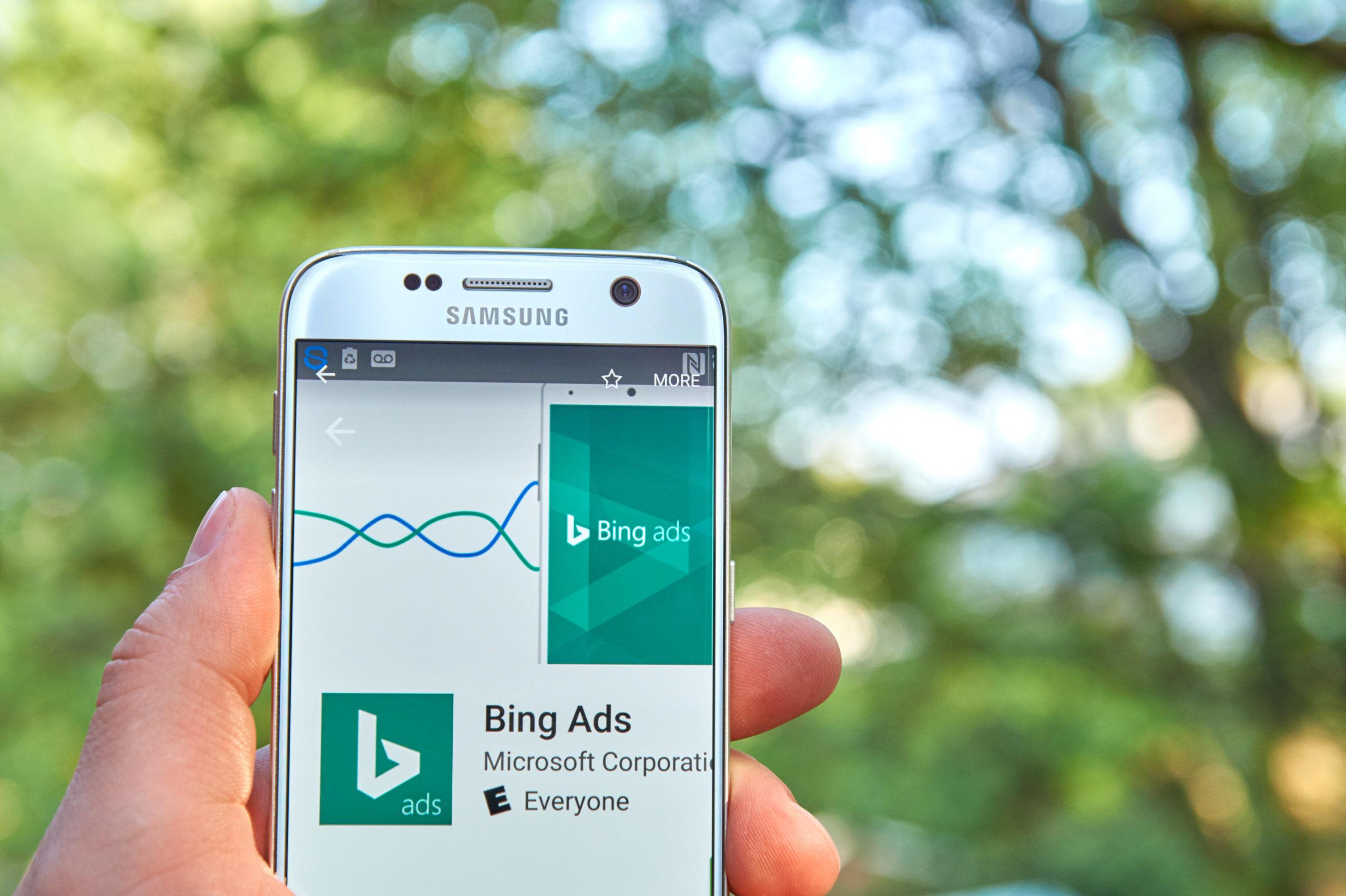Bing Ads app | Microsoft Advertising | Marketing Opportunities